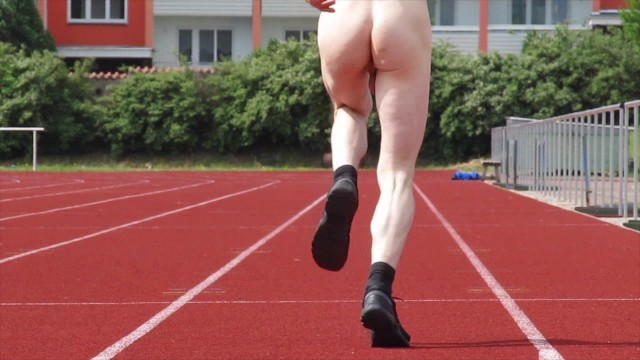 Free vids of naked teens - Very crazy vid, run naked on public stadion, very teen boy, czech vid