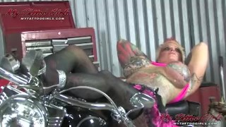 Lotion blackwidow playing mother masturbation