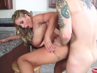 Smelly Pussy Tube Big tits and big ass MILF Eva Notty takes a big dick deep - Mrs. Creampie