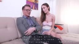 FuckStudies.com -Hazel Dew -Crazy orgasm after chess game