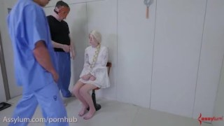 Hypnotized by cock and taught to be a perfect anal fuck doll