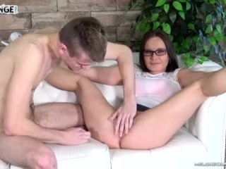 Melonechallenge Wendy Moon can't do more than masturbate with young loser