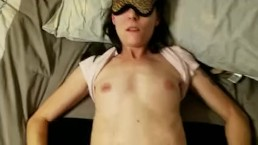 Hand cuffed and blind folded