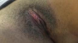 Natural clit play masturbation