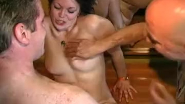 Sexy holland Milf threesome from sexy holland
