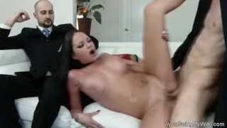 Exotic Swinger Wife Fucks Another Man rough 3some milf wife mom husband amateur wives sharing swingmywife swingers threesomes mother anal cuckold hubby