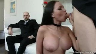 Exotic Swinger Wife Fucks Another Man  whooty wives swingers hubby wife mom husband amateur sharing swingmywife threesomes milf pawg rough mother anal