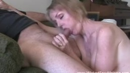 Granny Begs Stepgrandson For Sex