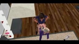 PC Emily Episode 2: Meeting Chantelle [FUTA on FEMALE]
