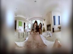Kiesha Grey And Abella Danger Share Your Big Cock POV
