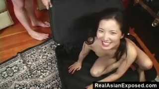 accessable pussy while in suitcase
