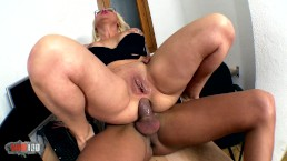 Hot bigtits spanish secretary hard ass fucking