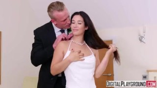 The Wedding Pact - Ella Hughes & Eva Lovia & Luke Hardy Tits big