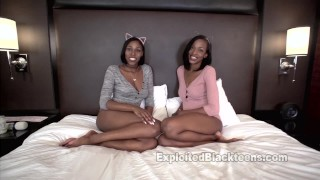 Fucking 2 Step Sisters in the Ass in this Threesome Anal Video  black ass black girl ass fuck black girl white guy black pussy ass assfuck booty black young 3some threesome anal teenager exploitedblackteens menage a trois
