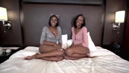 Fucking 2 Sisters in the Ass in this Threesome Anal Video
