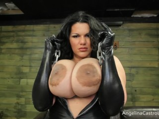 Porno juliana busty big titted angelina castro orders you to worship her! Angelinacas