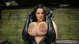 Busty Big Titted Angelina Castro Orders You To Worship Her!