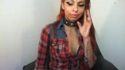 Virgin Humiliation by Redhead Femdom Babe