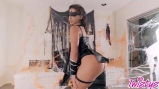 Twistys Hard Trick or treat xxx scene with Abella Danger
