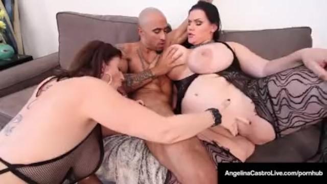 Eva Angelina Black Cock