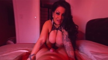 Big Tit Goddes Jerks And Sucks Your Cock Till YOu Cum VR POV.