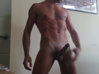 Watch My Naked Fit Tight Body And My Hard Rock Big Cock