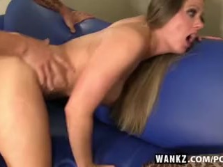 WANKZ- Sneaky Brad Cons Holly into Fucking