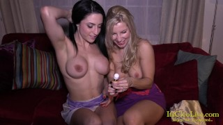 Webcam Star Cleo Gets Off With Amazing Ashley Fires!