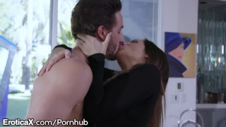 EroticaX Cassidy Klein gets Cum All Over Hardcore bed
