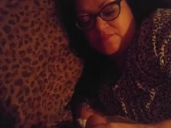 Waking mom up with my cock just a teaser