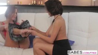 Babes - Seducing Miss Dolce starring Abigail Mac and Darcie Dolce Dark view