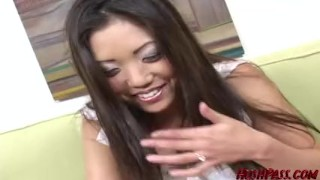 Housewife Kaiya needs cash, to get her man a birthday gift! Crazy Asian  close up asian teen big cock couple asian mom blowjob hardcore brunette raw fingering shaved mother hushpass shane diesel