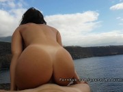 Amateur public sex with busty college teen. Made in Canarias