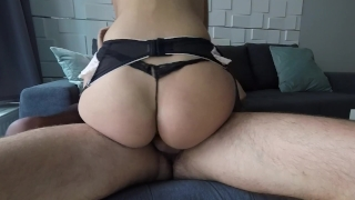 Claudia - Apartment Cowgirl Tits saboom