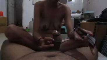 Indian Bhabhi With Young Devar Sextape