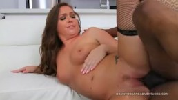 DOCEAN PAWG Maddy O'Reilly railed by Black Dick