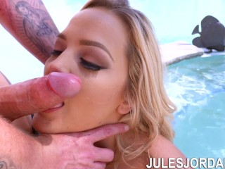 Jules Jordan - Alexis Texas Teasing Jules Jordan's Cock With Anal Sex