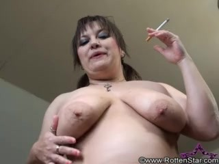 SMOKING ALHANA WINTER - POV Riding Smoke - RottenStar Vintage - BONUS CLIP