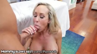 Brandi love her stepson hot lets mouth in finish younger mother