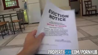 Fucks landlord tits with propertysex tenant her asian big hot eviction tenant