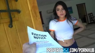 PropertySex - Hot Asian tenant with big tits fucks her landlord landlord hardcore point of view hottie big tits sloppy blowjob cumshot asian babe deepthroat titty fuck tattoo eviction landlord eviction propertysex tenant facial