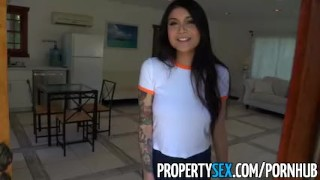 PropertySex - Hot Asian tenant with big tits fucks her landlord videos landlord hardcore point-of-view hottie big-tits sloppy-blowjob cumshot asian-babe deepthroat titty-fuck tattoo eviction landlord-eviction propertysex tenant facial