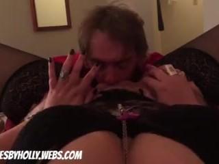 Slim eats pussy and fucks HollyWood