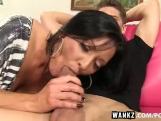 WANKZ- Sneaky Milf Seduces Guy into Sex