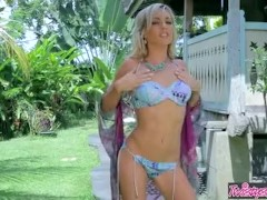 Twistys - Aloha Skye plays with herself
