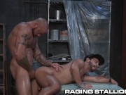 RagingStallion Built Stud Sean Duran Dominates his Ass
