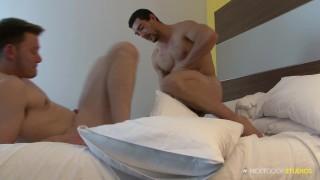 Chase's and nextdoorstudios intimate moment derek ass muscles