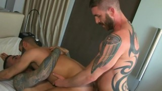Best of dp penetration gay the anal double scenes brunette