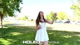 HOLED Kite flying brunette Lexi Lovell asshole fucked by big dick