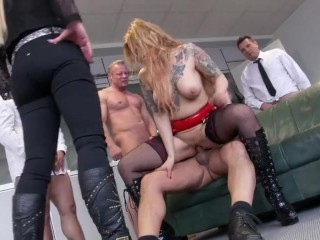 Office Gangbang Part 2